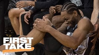 Download Was Kawhi's Game 1 Injury Result Of Dirty Play By Zaza? | First Take | May 15, 2017 Video