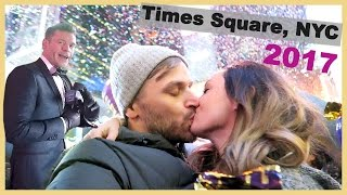 Download 🎉NEW YEARS EVE IN TIMES SQUARE!! 😜 Video