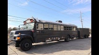 Download School bus conversion / Walk through Video