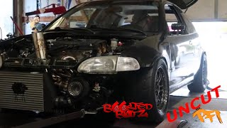 Download The Battle for 700hp civic! PFIspeed UnCut😉 Video