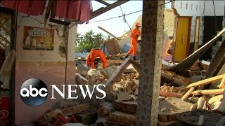Download Magnitude 6.9 earthquake in Indonesia kills almost 100 | ABC News Video