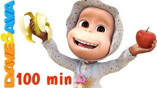 Download Apples and Bananas Song | Nursery Rhymes Collection and Baby Songs from Dave and Ava Video