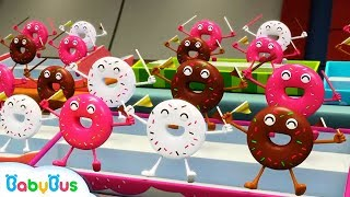 Download Donuts and His Friends | Learn Numbers, Color Song | Nursery Rhymes | Kids Songs | BabyBus Video