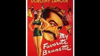 Download MORENA Y PELIGROSA (MY FAVOURITE BRUNETTE, 1947, Full movie, Spanish, Cinetel) Video