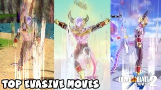 Download BEST WAYS TO ESCAPE ATTACKS!? Top Evasive Moves in Dragon Ball Xenoverse 2 Video
