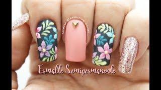 Download Decoración de uñas en Esmaltado semipermanente ♥ Deko Uñas Video