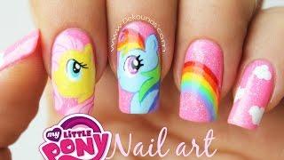Download Decoración de uñas my little pony - My Little pony nail art tutorial Video