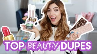Download 10 DRUGSTORE DUPES for high end beauty + makeup! | Amelia Liana Video