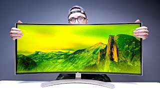Download Massive 38-inch Monitor = Mind Blown! Video