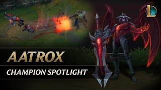 Download Aatrox Champion Spotlight | Gameplay - League of Legends Video