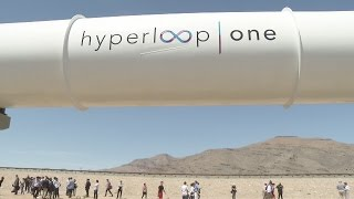 Download Hyperloop test run Video