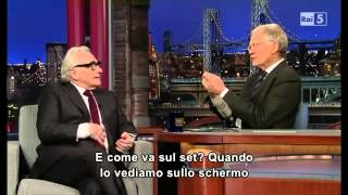 Download David Letterman - Martin Scorsese 22/01/2014 Sub Ita Video