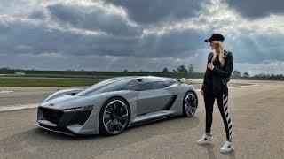 Download Audi's Future Supercar! Video