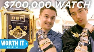 Download $285 Watch Vs. $700,000 Watch Video