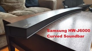 Download Samsung HW-J6000 Curved Soundbar Review Video
