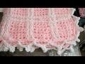 Download Cobija para bebé tejida con los dedos, muy fácil y bien explicado Video