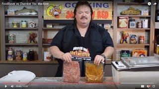 Download FoodSaver vs Chamber Vac Machine Video