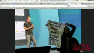 Download The 404 - Protestors at Google I/O Video
