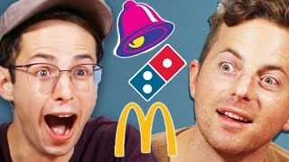 Download Try Guys Drunk Vegan Fast Food Taste Test Video