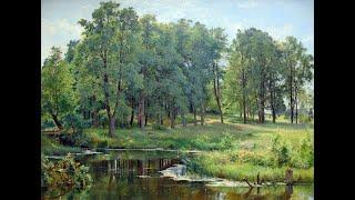 Download IVAN IVANOVICH SHISHKIN (1832-1898) Russian painter ✽ Tchaikovsky-Serenade Video
