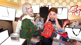 Download Surprising Shane Dawson w. $15,000 Gucci Makeover Video
