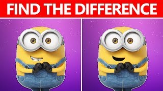 Download NO ONE CAN FIND THE DIFFERENCE | 100% FAIL | MINIONS MOVIE PUZZLE Video