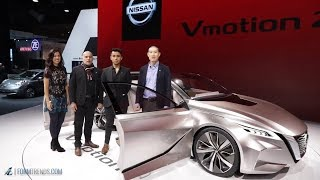 Download Meet the Designers: Nissan V-Motion 2.0 Concept Video