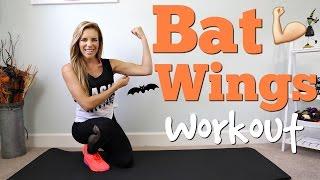 Download Bye Bye BAT WINGS | Tricep & Arm Workout Video