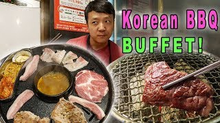 Download BEST All You Can Eat KOREAN BBQ Buffet in Seoul South Korea Video