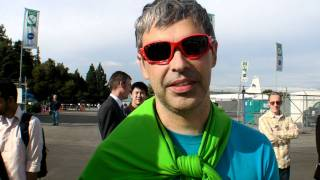 Download Co-founder of Google Larry Page shows interest in Pipistrel GFC 2011 Video
