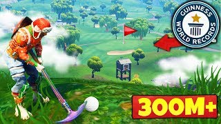 Download The GOLF SHOT WORLD RECORD in Fortnite Battle Royale Video