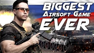 Download Biggest Airsoft Game Ever - Armored War VIII in Russia - RedWolf Airsoft RWTV Video