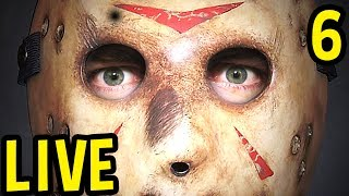 Download Friday The 13th Game LIVE GAMEPLAY ALL DAY - Jason Gameplay / Counselor Gameplay Pre - 1080p60 Video