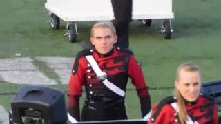Download Marching Band girl really feeling it Video