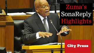 Download 4 highlights from Zuma's Sona reply Video