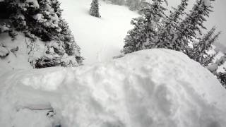 Download GoPro HD Vail Backcountry Pillows: Deep Pillow, Botched Pillow, Powder Slashes Video