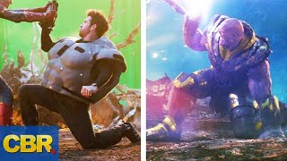 Download 15 Avengers Endgame Scenes Before And After CGI Video