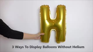 Download 3 Ways to Display Balloons without Helium Video