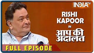 Download Rishi Kapoor in Aap Ki Adalat 2016 (Full Episode) Video