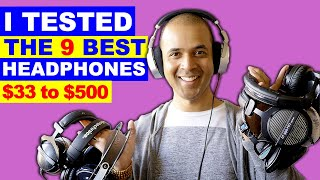 Download 9 STUDIO HEADPHONES for Music Production, Mixing, Tracking Video