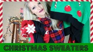 Download CHRISTMAS SWEATER HAUL | 2016 Video