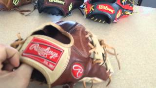 Download My top 5 baseball gloves Video