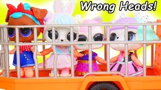 Download LOL Surprise Dolls + Lil Sisters Wrong Heads at Playmobil Animal Safari Playset - Toy Wave 2 Video Video
