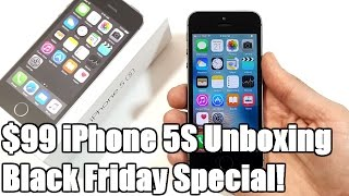 Download $99 iPhone 5S Unboxing! (Black Friday Special) Video