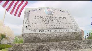Download 'The hurt never goes away:' Pa. man who lost son at war helps others Video