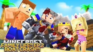 Download MINECRAFT FAMILY LIFE!! (EP.2) - OUR PARENTS CRASHED A SPEEDBOAT!! - Little Donny Adventures. Video