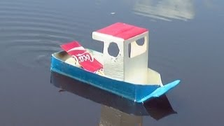 Download How to Make a Simple Pop Pop Boat Video