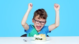 Download Kids Try Pies from Around the World | Kids Try | HiHo Kids Video