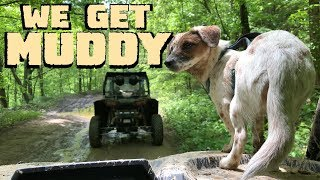 Download Covered in mud on the Hatfield McCoy trail system 2019 Polaris RZR Turbo S Video