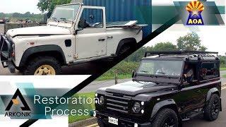 Download Arkonik Defender Restoration Process Video